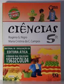 Livro Ciências 5º Ano - Aprendendo Sempre