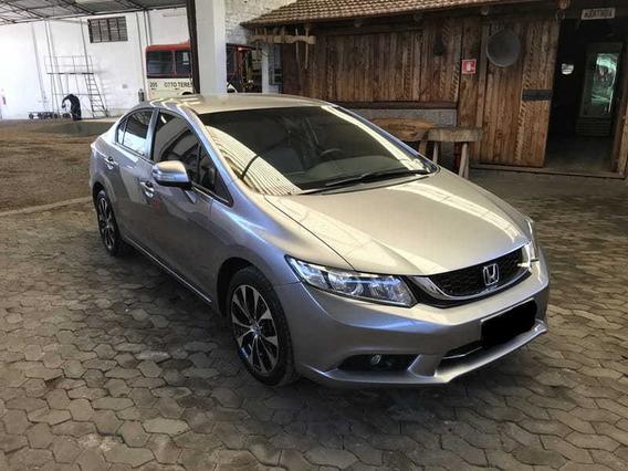 Honda Civic Lxr 2.0 Flexone 16v Aut. Baixa Km 2015/2016