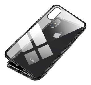 Capinha Magnética 360 Vidro Frente E Verso Para Para iPhone