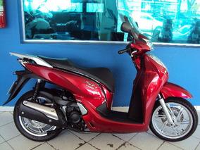 Honda Sh 300i Vermelha Modelo 2017 Campinas Sp.