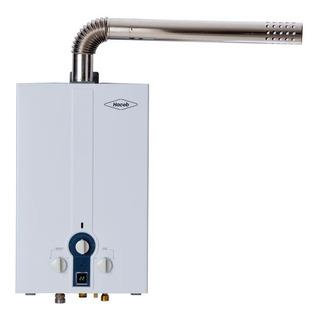 Calentador A Gas De Paso Haceb 6lt Tf Gn Color Blanco