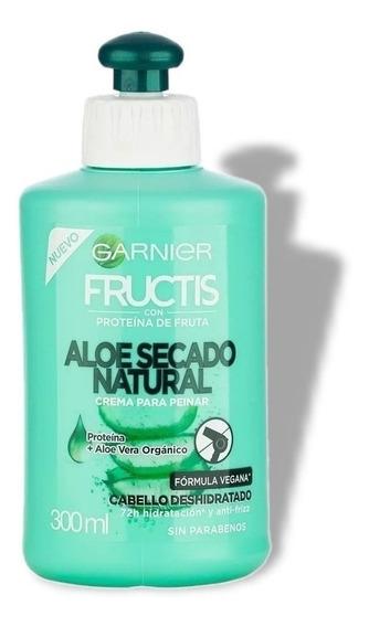 Crema Para Peinar Garnier Fructis Aloe Hidra Bomb Vegana