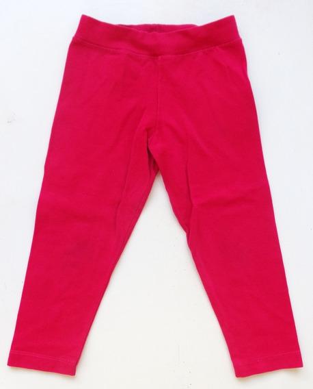 Calzas Rosa Fuxia Nena - Talle 3 Años