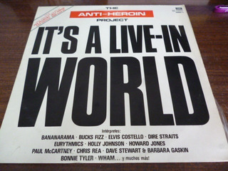 Paul Mccartney Anti Heroin Project Its A Live In World Lp