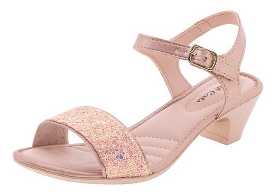 Sandália Infantil Feminina Pink Cats - W9301a Rosa