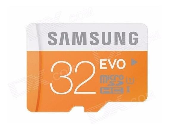 Cartão Micro Sd Sdhc Samsung Plus 32gb Class 10 48mb/s