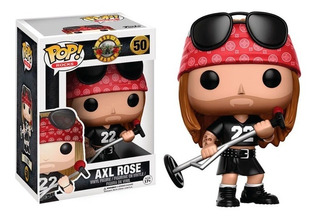 Funko Pop Rocks Music-guns N Roses Axl Rose 50 (10688)