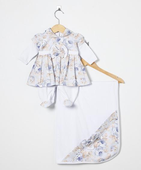 Kit Maternidade Menina Vermelho, Onça