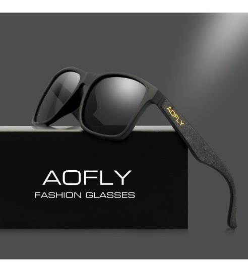 Aofly Retro Óculos Polarizados Homens Espelho De Condução Óc