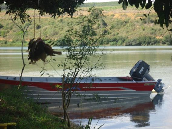 Barco De Alumínio, Motor E Reboque Todos Com Nf