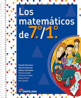 Los Matemáticos De 7.°/1.° - Santillana
