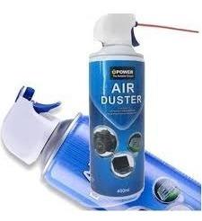 Aire Comprimido Aerosol 400 Ml Para Limpieza De Electrónicos