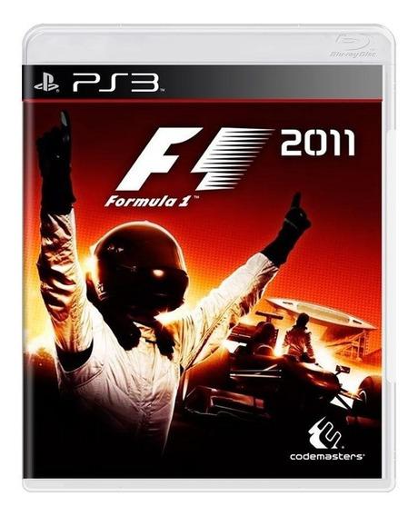 Formula 1 2011 Ps3 Mídia Física Pronta Entrega