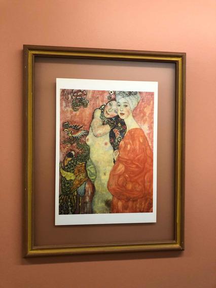 Láminas De Klimt Y Chagall Enmarcadas 10 En Total.
