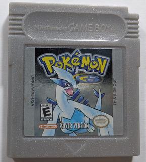 Pokemon Silver - Nintendo Gbc & Gba