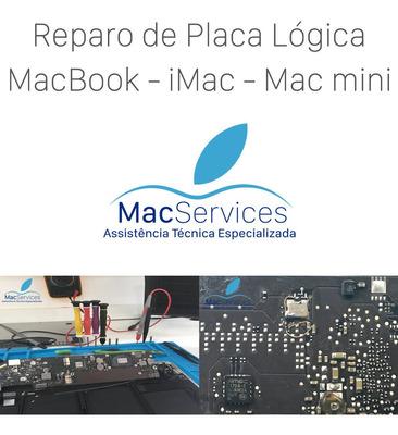 Reparo De Placa Lógica De Macbook - iMac - Macservices