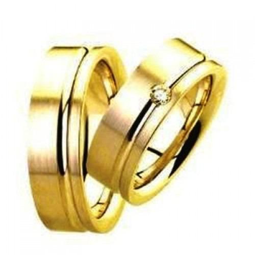 Aliança De Ouro Casamento E Noivado Fortaleza Oliver Joias