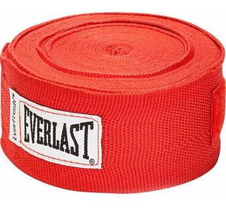 Original Rojo 2 Everlast Vendas Para Box Proteccion De Mano Algodon Tenis.shop