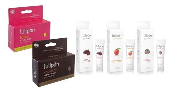 Tulipán - Preservativos Saborizados X12 Y Geles Saborizados