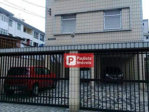 Apartamento Com 2 Dormitórios À Venda - Aparecida - Santos/sp - Ap27833