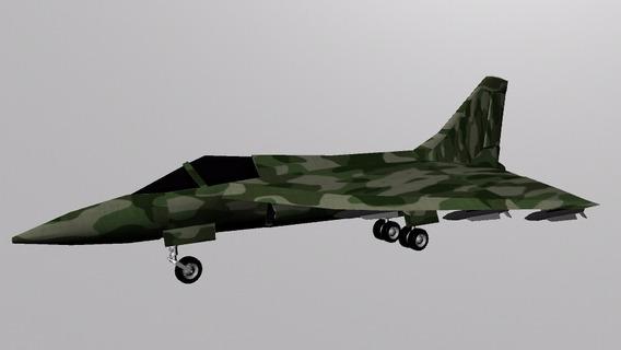 Avião De Pequeno Porte Em 3d Para Games Ou Arquiteturas