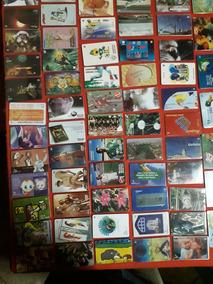 Coleção De Cartões Telefônicos Todos Diferentes.