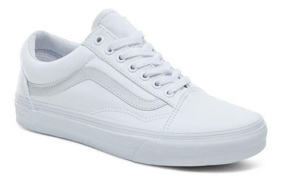 Tenis Vans Unisex Blanco Old Skool Vn000d3hw00