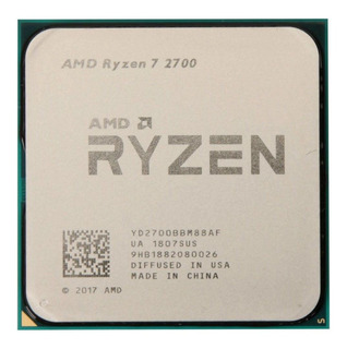 Procesador AMD Ryzen 7 2700 8 núcleos