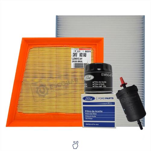 Kit 4 Filtros Completo Ford Ecosport Duratec 2.0 - Original