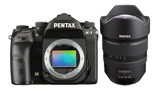 Pentax K1 Digital Camera K-1 Kit Lente 15-30mm