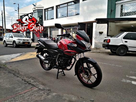 Bajaj Discover 150 F 2017 Excelente Estado Biker Shop