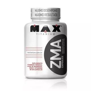 Zma Max Titanium 90 Caps Aumento De Testosterona Promoção