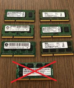 Kit 06 Memória 2 E 4gb Ddr3l P/ Notebook Frete Gratis