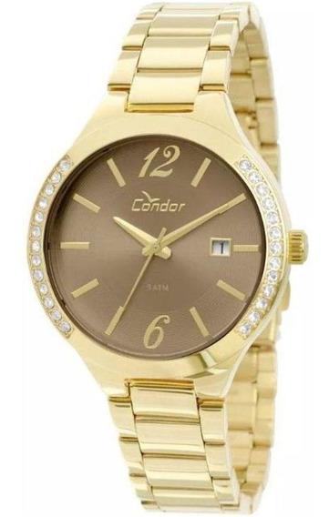 Relógio Condor Feminino Co2115to/4c Dourado - C/ Nota Fiscal