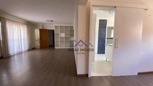 Imagem 1 de 26 de Apartamento Com 3 Dormitórios À Venda, 155 M² Por R$ 800.000,00 - Anhangabaú - Jundiaí/sp - Ap1845