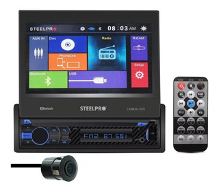 Autoestereo Pantalla Steelpro Carbon-7070 Bluetooth Usb Dvd