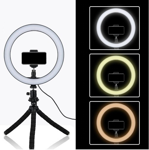 Ring Light Tripé Pro Maquiagem Blog Youtube Selfie Make Up