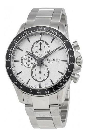 Relógio Tissot V8 Cronógrafo Automático Aço/prata/preto