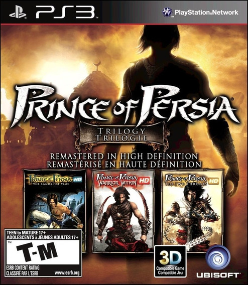 Prince Of Persia Trilogy Hd Ps3 Psn Original