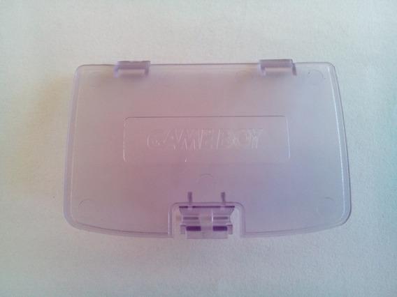 Tampa Das Pilhas Para Game Boy Color Purple