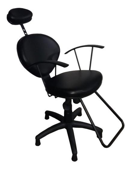 Cadeira Universal Para Salao Maquiagem Corte Design Facial