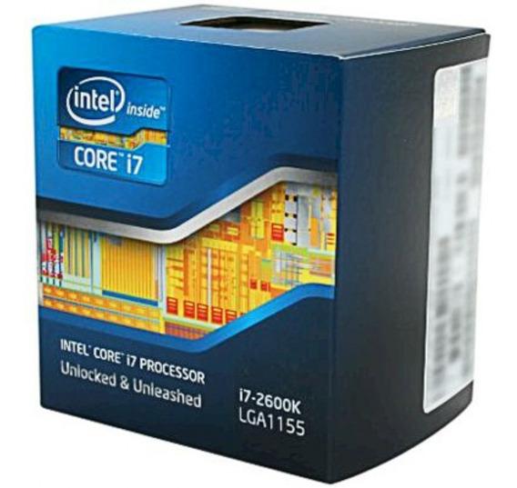 Intel Core I7-2600 3500 Mhz (quadcore) - Socket Lga 1155