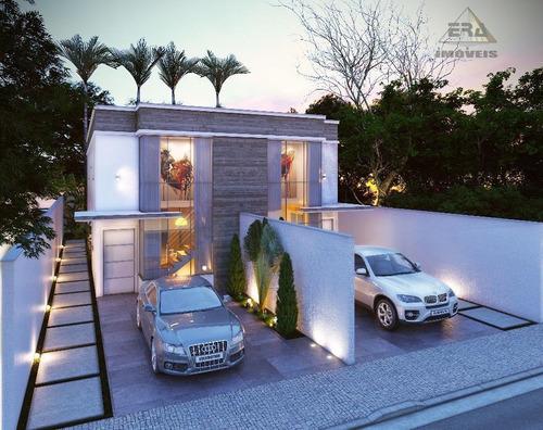 Imagem 1 de 4 de Casa Com 3 Suítes À Venda, 167 M² Por R$ 500.000 - Center Ville - Arujá/sp - Ca0671