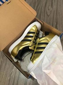 adidas Superstar Dorado/blanco/negro O R I G I N A L E S