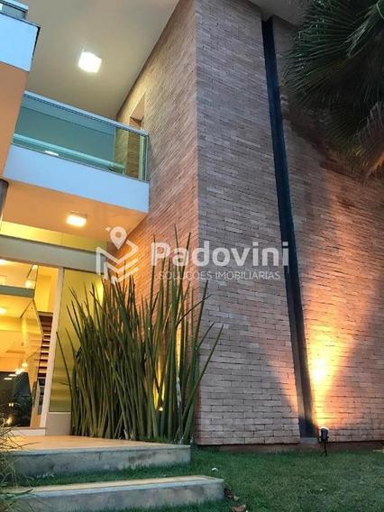 Casa Em Condominio À Venda, 4 Quartos, Vila Aviação - Bauru/sp - 508