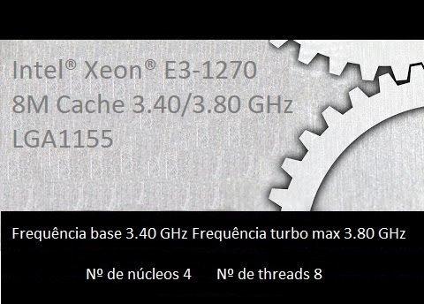 Xeon E3-1270 Soquete 1155 2 E 3 Geração I7 2700 E I7 3770
