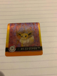 Eevee Jolteon Pokemon Flipz Lenticular Action Coleccionable