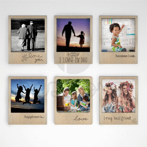 Porta Retrato Polaroide
