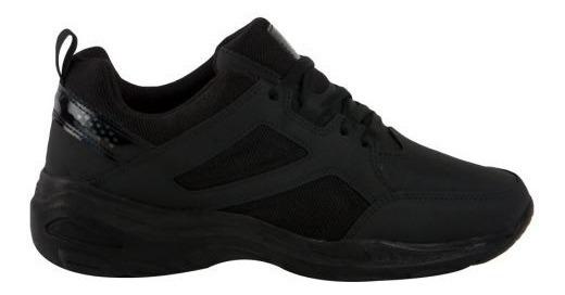 Tenis Casual Negro Pink 7962