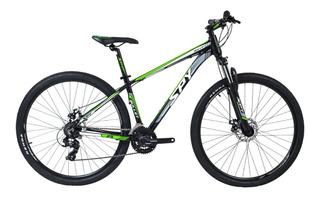 Bicicleta Mtb Spy Bullet R 29 Frenos Hidraulicos 24v Shimano Altus Mountain Bike